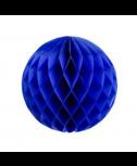 כדור כוורת כחול עם פרנזים בצבע כחול