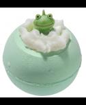 פצצת אמבטיה+ צעצוע צפרדע