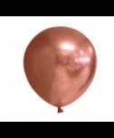 10 בלוני גומי כרום רוז גולד- ללא ניפוח