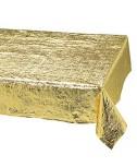 מפה מטאלית חלקה זהב