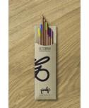 שמיניית עפרונות צבעוניים