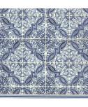 מפיות עיטורים כחולים