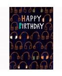 כרטיס ברכה יום הולדת- אוזניות