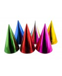 6 כובעי ליצן מטאליים