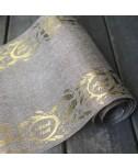 ראנר פשתן מהודר לשבועות עם הטבעות זהב