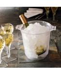 דלי לקרח גדול שקוף (שמפניירה)