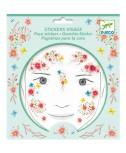 מדבקות פנים- פיית אביב