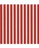 מפיות נייר פסים אדום לבן