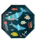 צלחות גדולות מתחת למים - Meri Meri