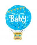בלון welcome baby תכלת