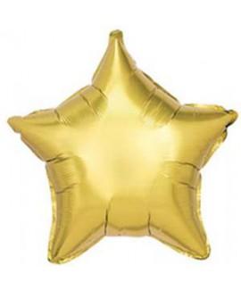 בלון אלומיניום כוכב זהב