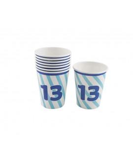 כוסות נייר 13 לבר מצווה
