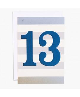 כרטיס ברכה ליום הולדת 13