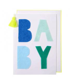כרטיס ברכה להולדת תינוק- meri meri