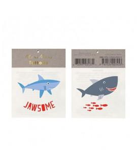 Meri Meri- קעקועי כריש