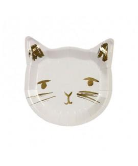 צלחות חתול - Meri Meri