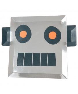 צלחות רובוט - Meri Meri