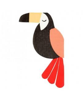מפיות ציפור טרופית- meri meri