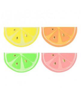 מפיות בצורת פלח לימון  Meri Meri
