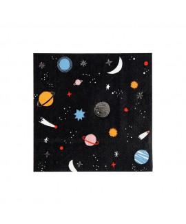 מפיות קוקטייל חלל - Meri Meri