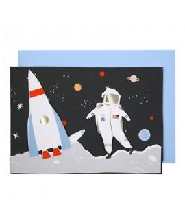 כרטיס ברכה חלל- meri meri