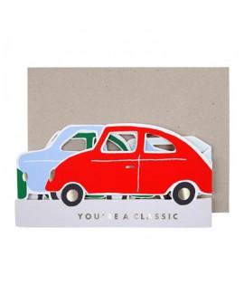 כרטיס ברכה מכוניות - Meri Meri
