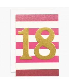 כרטיס ברכה ליום הולדת 18