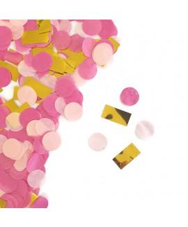 קונפטי נייר - ורוד, פוקסיה, זהב