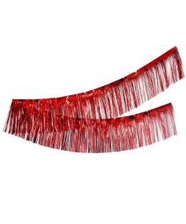 שרשרת פרנזים לתלייה- אדום