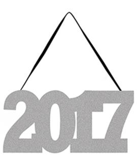 שלט כסף נוצץ 2017