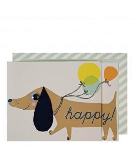 כרטיס ברכה כלב יום הולדת - Meri Meri