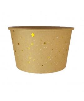 דלי נייר קטן לפורים- קראפט כוכבים