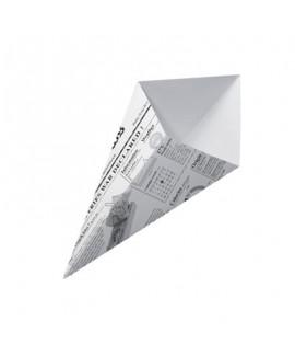 קונוס מנייר- דמוי נייר עיתון