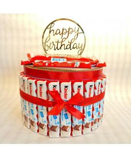 עוגת ממתקים- קינדר