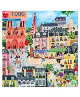 פאזל יום בפריז- 1000 חלקים