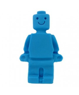 קישוט בצק סוכר - איש לגו כחול