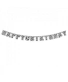 באנר happy birthday כדורגל