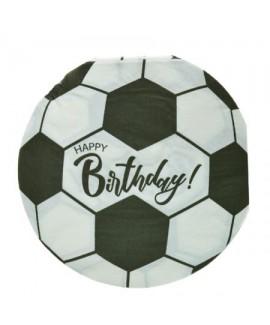 מפיות קטנות בצורת כדורגל