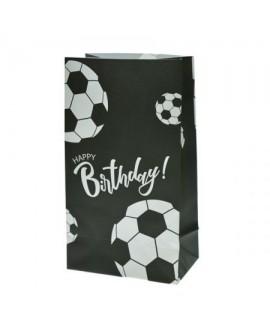 מארז 6 שקיות נייר כדורגל