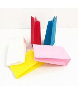 10 שקיות נייר (צבע אחיד)