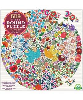 פאזל זוג ציפורים- 500 חלקים