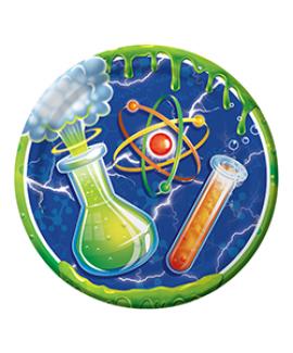 צלחות קטנות מדען