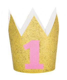 כתר זהב יום הולדת שנה