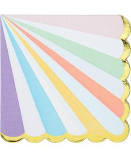 מפיות צבעי פסטל