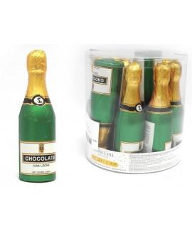 בקבוק שמפניה בינוני עשוי שוקולד