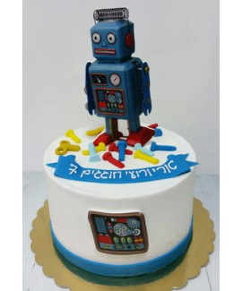 עוגת רובוט