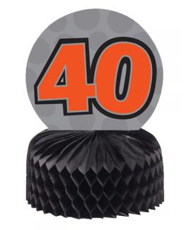 מיני מרכז שולחן גיל 40