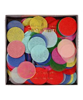 קונפטי עיגולי נייר צבעוניים- Meri Meri