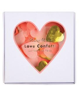 קונפטי לבבות נייר משי - Meri Meri