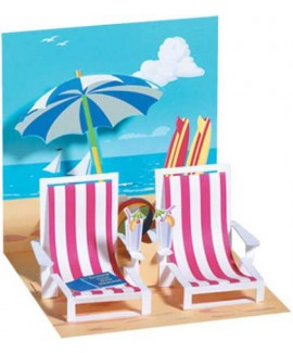 כרטיס ברכה חופשה בחוף